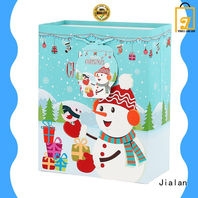 christmas paper gift bags optimal for Jialan