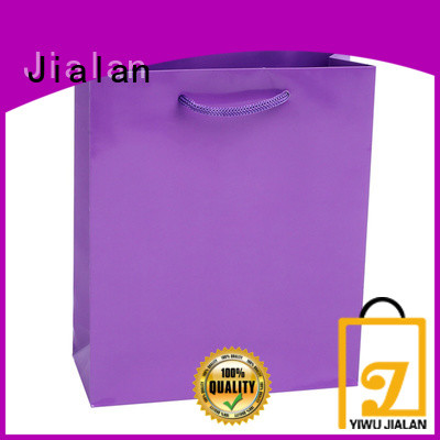 Jialan colorful gift bags widely applied for supermarket