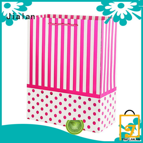 Jialan paper carrier bags holiday gifts packing