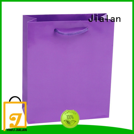 Jialan color gift bags indispensable for shopping malls