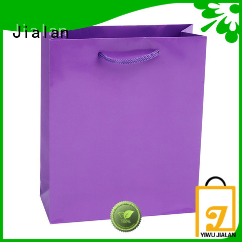 Jialan various custom gift bags excellent for shoe stores