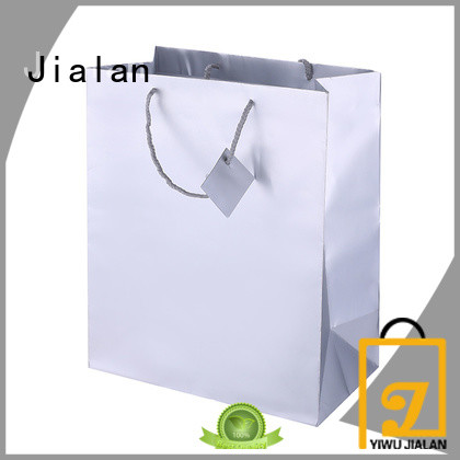 Jialan professional holographic gift bags suitable for gift stores