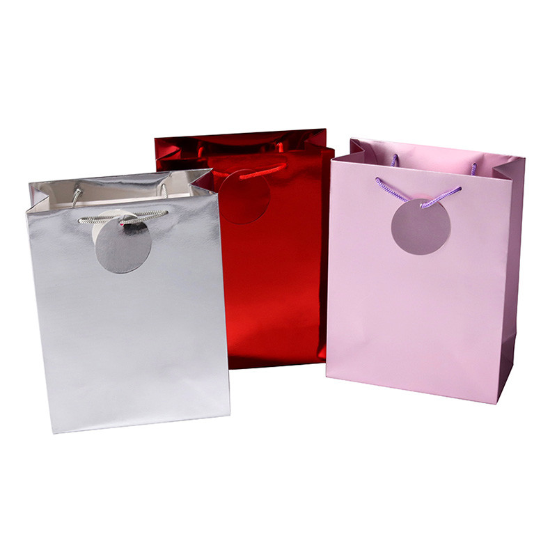 Wholesale cheap holographic paper bags, holographic gift bag