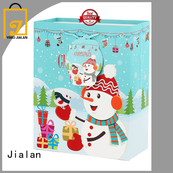 Jialan christmas paper bags ideal for gift stores