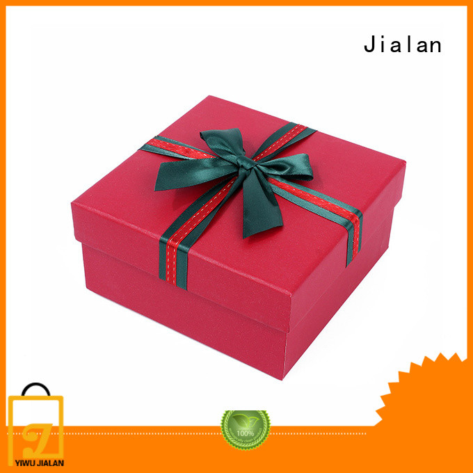 Jialan paper present box packing gifts