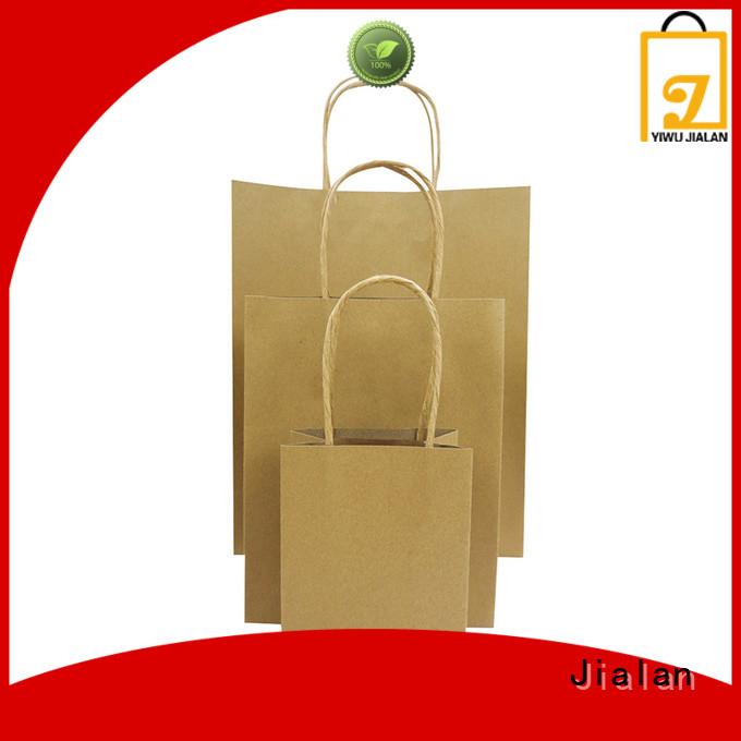 Jialan high grade craft paper bags clothing stores