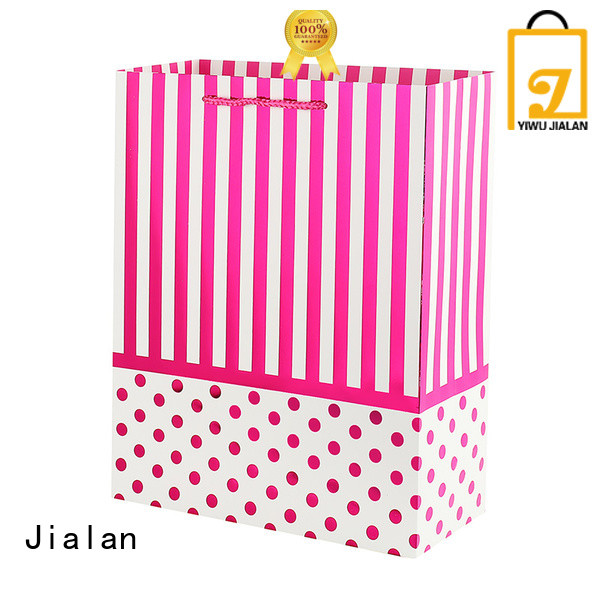 Jialan personalized paper bags very useful for packing gifts