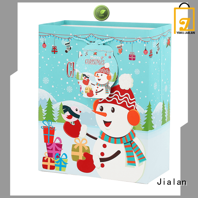 Jialan various christmas bags perfect for gift stores