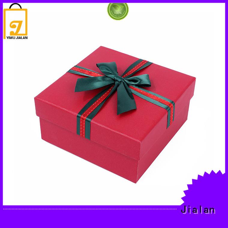 paper present box packing birthday gifts Jialan
