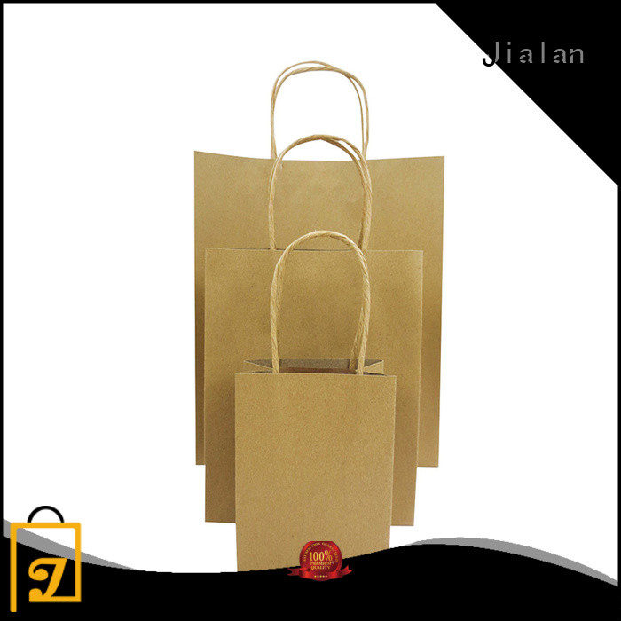Jialan good quality paper bag optimal for supermarket store packaging