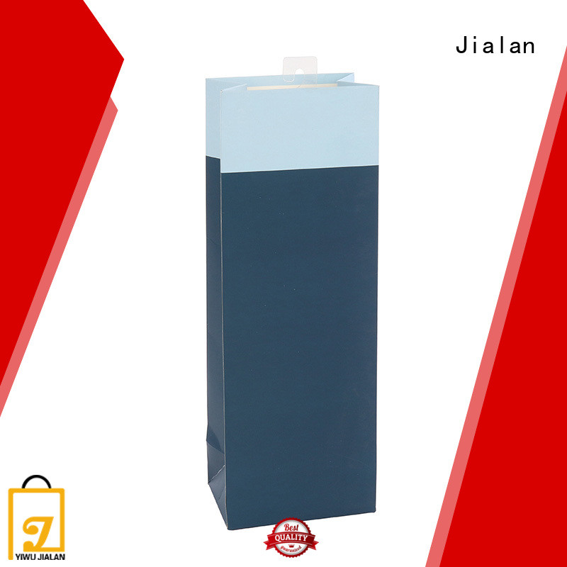 Jialan customized personalized paper wine bags satisfying for gift packing