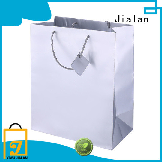 Jialan holographic paper bag best choice for gift shops