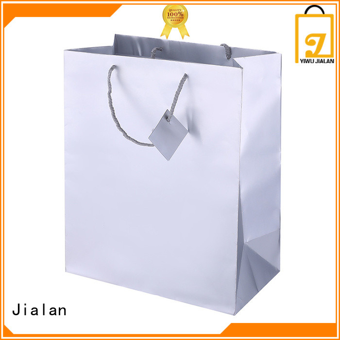 high grade holographic packaging bags nice user experience for shopping mall