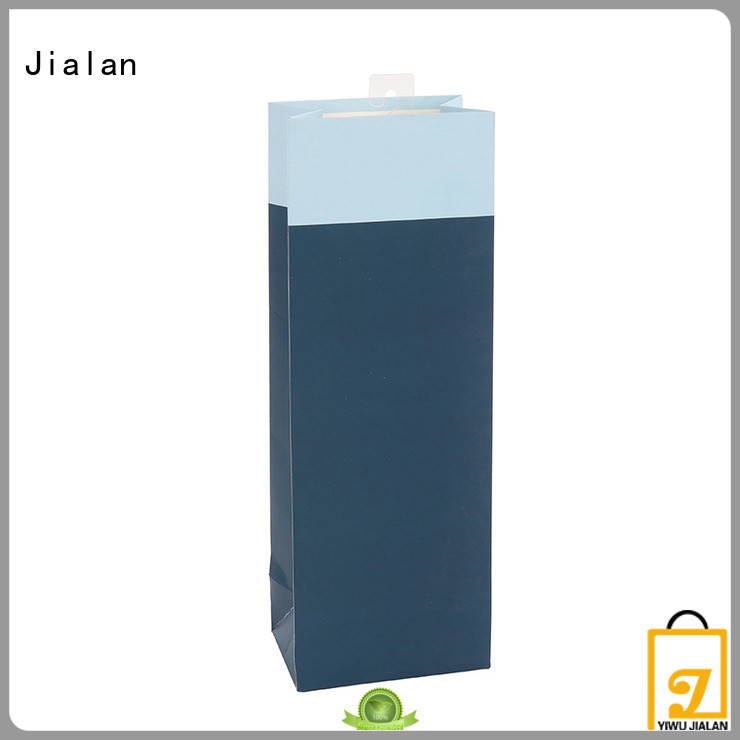 Jialan high grade personalized paper wine bags satisfying for gift packing