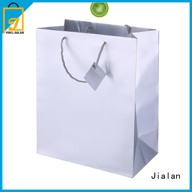 Jialan high grade holographic gift bags ideal for supermarket