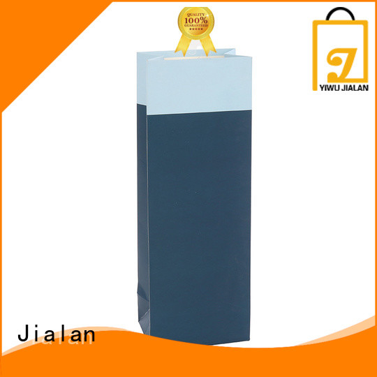 Jialan high grade wine bottle paper bags perfect for wine stores