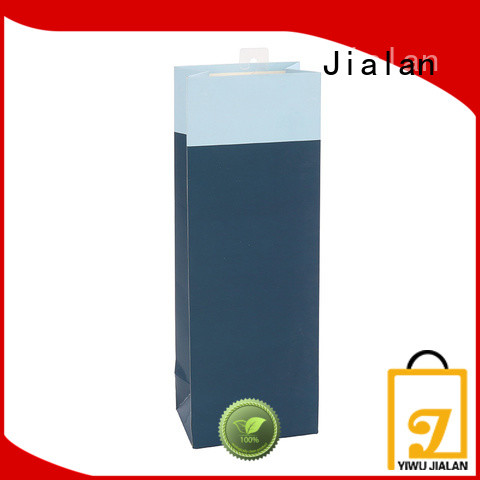Jialan customized paper wine gift bags wine stores