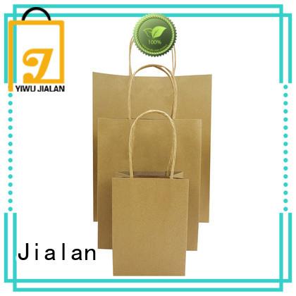 Jialan high grade paper bag satisfying for shopping malls