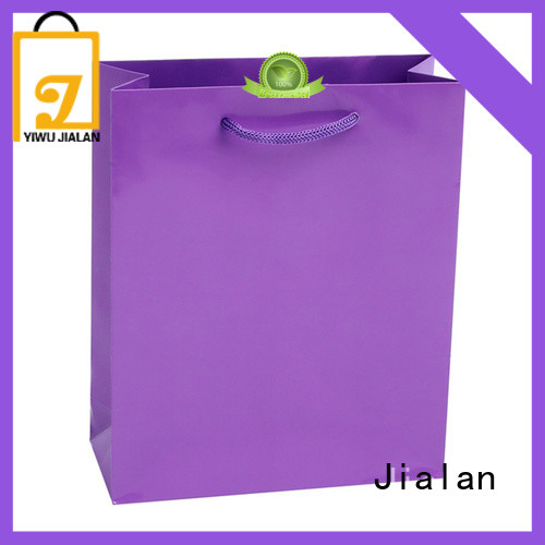 Jialan environmentally friendly present bag needed for shoe stores