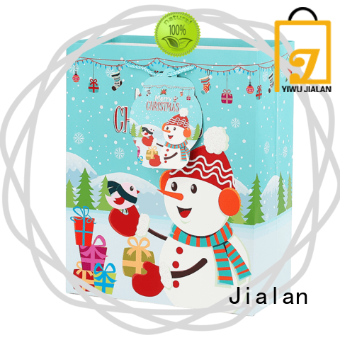 Jialan christmas paper gift bags gift stores