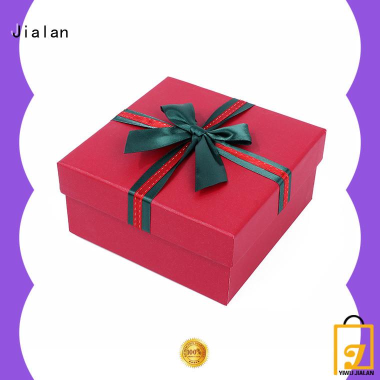 Jialan high grade cardboard gift boxes wedding