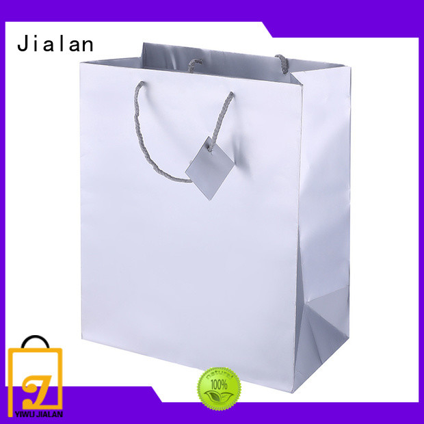 Jialan high grade holographic packaging bags ideal for daily shopping