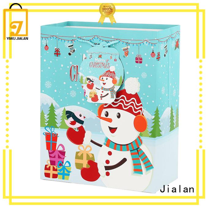 Jialan various christmas shopping bags gift stores
