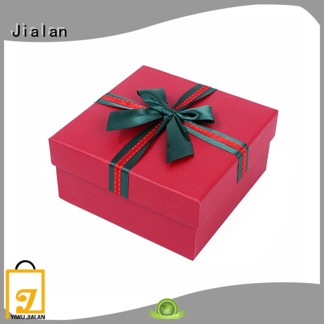 Jialan paper gift box nice user experience for