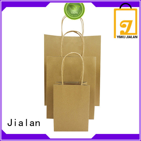 customized craft paper bags optimal for supermarket store packaging