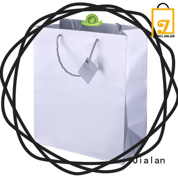 Jialan holographic paper bag shopping mall