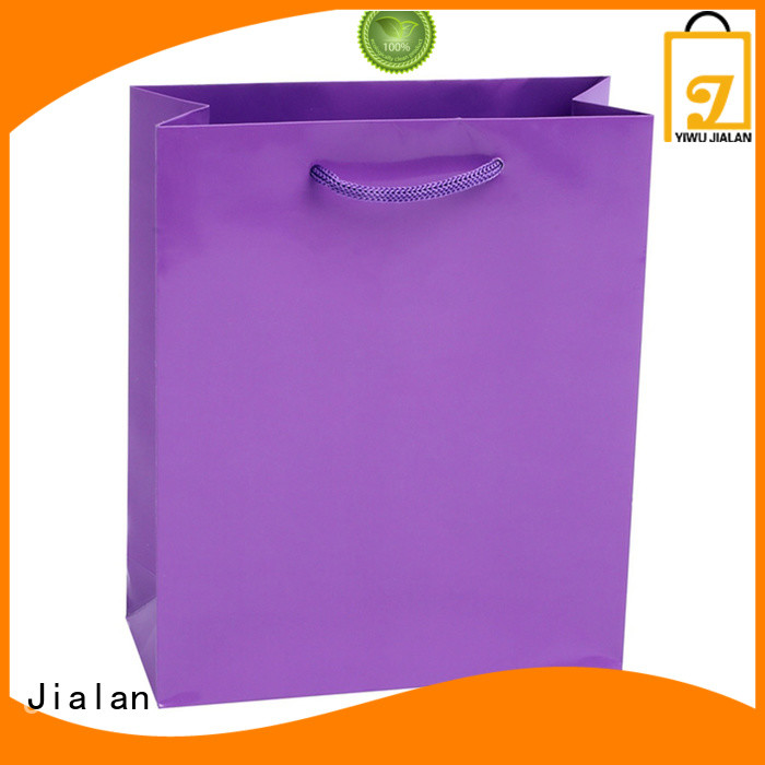 Jialan environmentally friendly paper color bags indispensable for shoe stores
