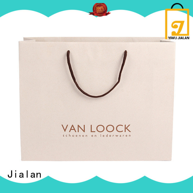 Jialan customized personalized gift bags very useful for packing birthday gifts