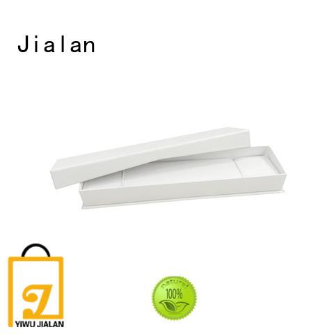 Jialan cost saving paper jewelry box jewelry shops
