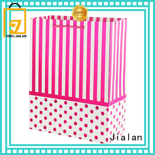 Jialan personalized gift bags very useful for holiday gifts packing