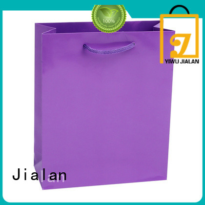 Jialan economical colored paper bags widely applied for