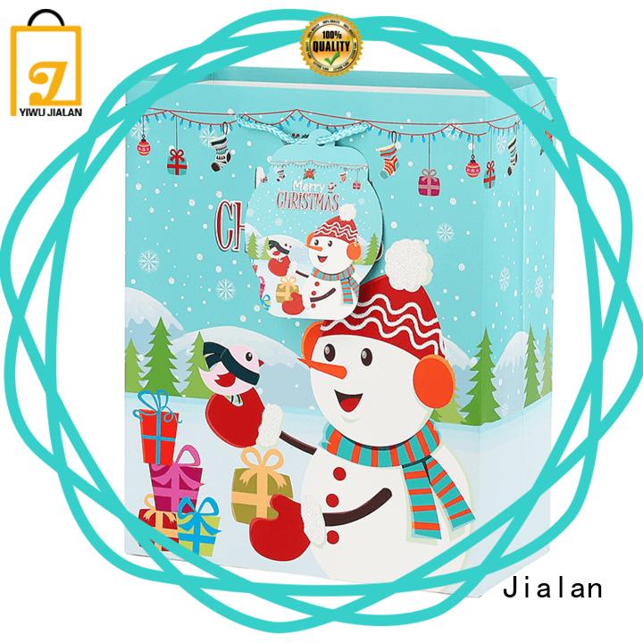 Jialan christmas gift wrap packing christmas gift