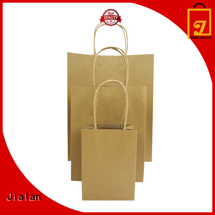 Jialan good quality paper bag optimal for shopping malls