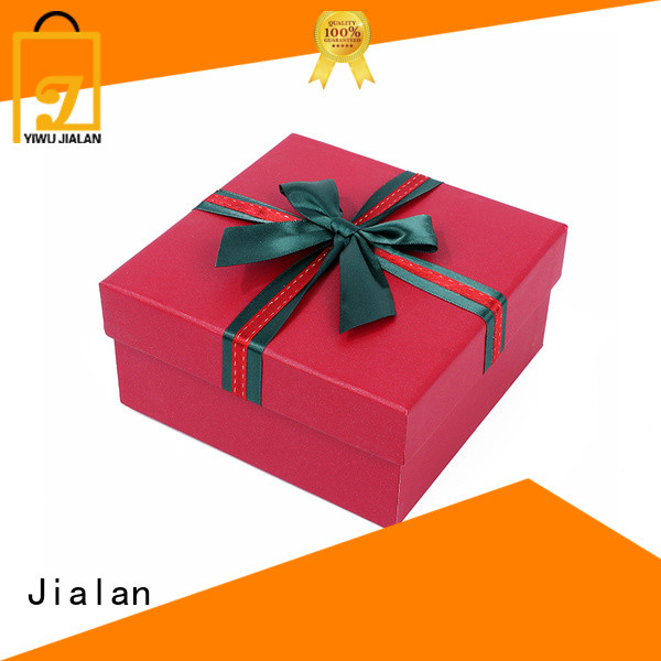 Jialan customized gift box making with paper packing gifts