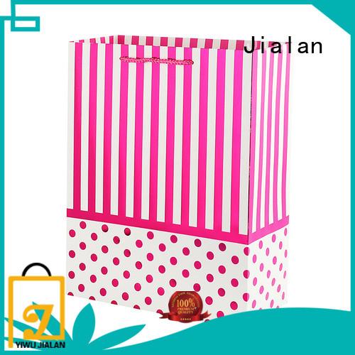 Jialan custom printed paper bags needed for