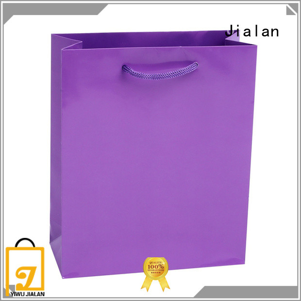 Jialan cost saving colored paper lunch bags gift packaging