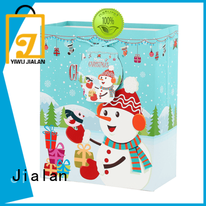 Jialan customized holiday gift bags great for holiday