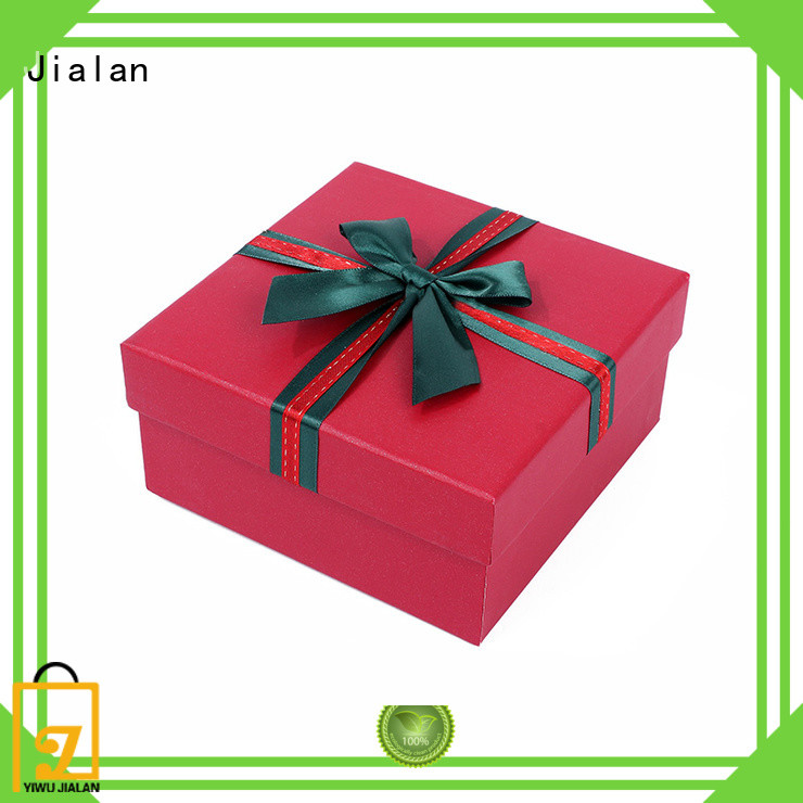 Jialan paper present box nice user experience for holiday gifts packing