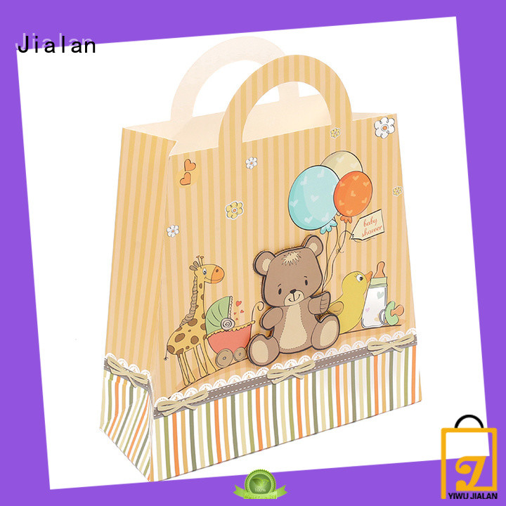 Jialan paper gift bags holiday gifts packing