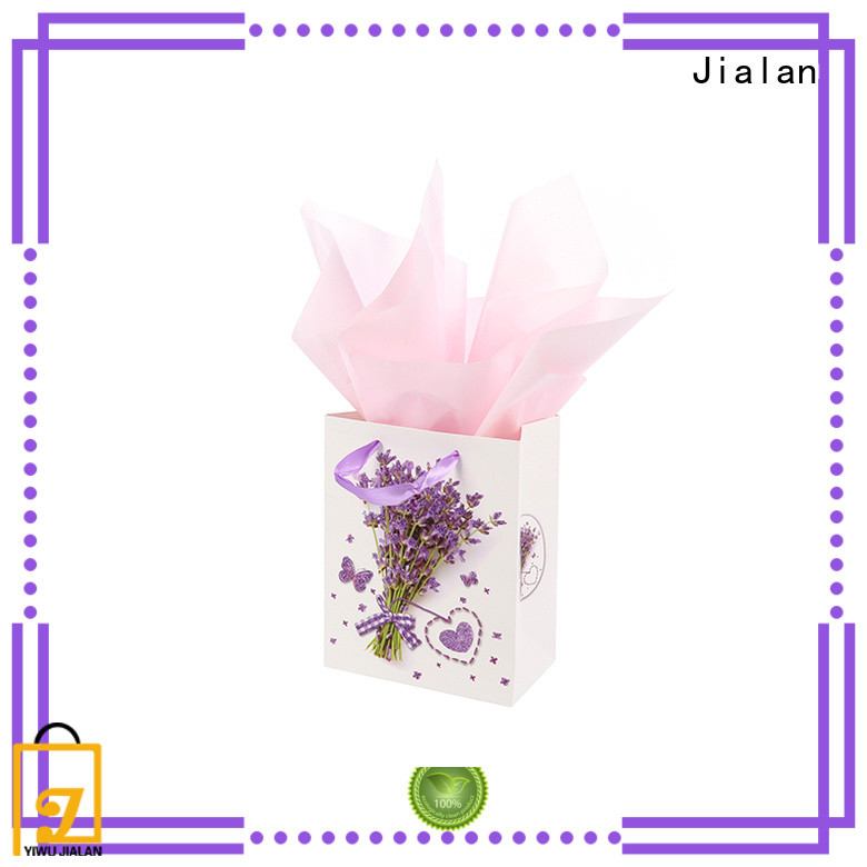 Jialan personalized paper bags packing gifts