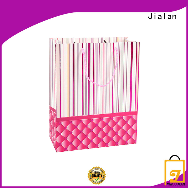 Jialan paper gift bags satisfying for packing birthday gifts