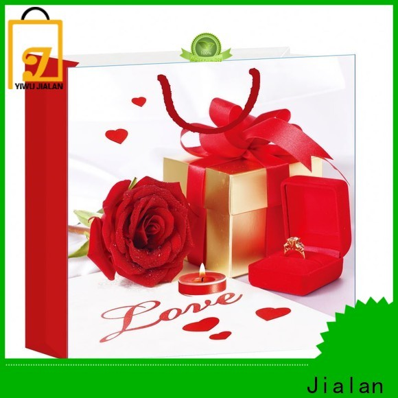 Jialan personalized gift bags supply for holiday gifts packing