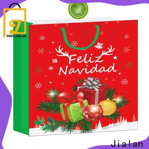 Jialan cost saving personalized gift bags manufacturer for holiday gifts packing