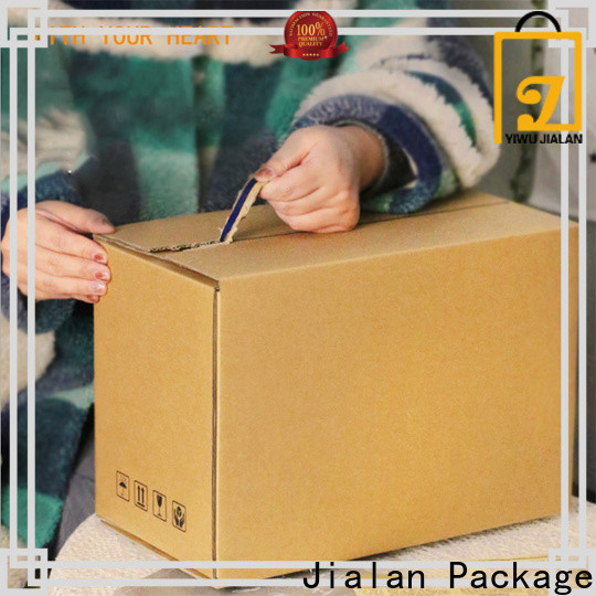 Jialan Package Quality custom made carton box company for package