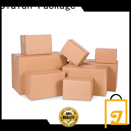 Jialan Package custom corrugated boxes wholesale manufacturer for package