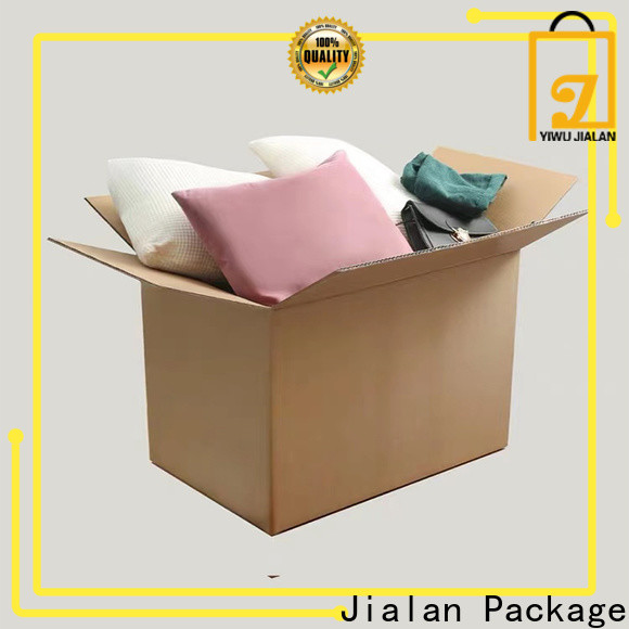 Jialan Package custom corrugated cardboard boxes company for delivery